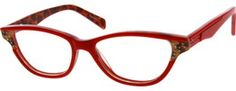 6296 Acetate Full-Rim Frame with Spring Hinges**
