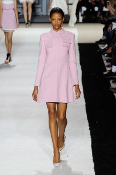 Giambattista Valli at Paris Fashion Week Spring 2015.