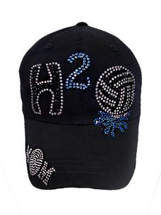 Sassy Strands Bling Hat - Water Polo | sassystrandsjewelry - Accessories on ArtFire