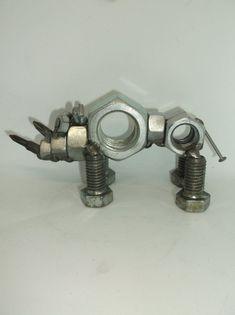 Welding Art Projects, Metal Art Projects, Diy Welding, Metal Welding, Metal Crafts, Blacksmith Projects, Metal Animal, Scrap Recycling, Metal Art Sculpture