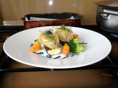 JHS/ Sardines fauvette, les légumes et la sauce de chou rouge Gino D'Aquino