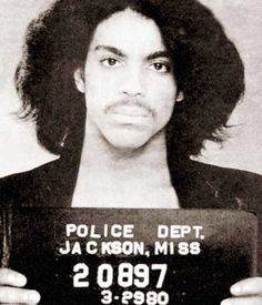 """Prince, 1980 Jackson, Miss. Charges: Pulling a """"prank"""" on an airplane"""
