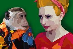#drawing #art #visuals #experiential #illustration #susiepecan #susannapecyna #retro #monkey