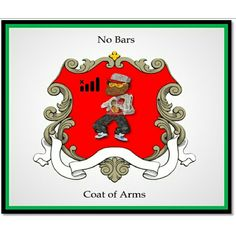 A Tribe Called Crest with No Bars:  The #CoatOfArms for many rappers ought to be a #crest with #NoBars. #STEELYourMind #InkWellSpoken #ATribeCalledQuest
