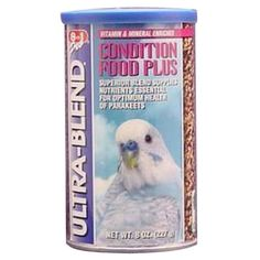 8 In 1 Pet Products 8-ounce Parakeet Ultrablend Condition Food