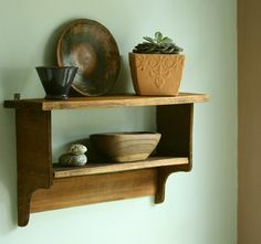 Make your own shelf, or several shelves :)