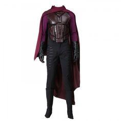 Marvel X-Men: Days of Future Past Magneto Erik Lensherr Cosplay Costume Full Set http://cosall.com/marvel-x-men-days-of-future-past-magneto-cosplay-costume-full-set.html