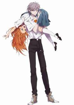 Asuka x Kaworu