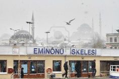ISTANBUL - JANUARY 31: First Snow Of The Season On January 31,.. Royalty Free Stock Photo, Pictures, Images And Stock Photography. Image 15336711.