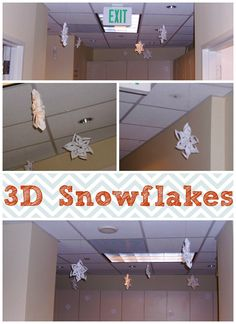 Part Martha Stewart. Part MacGyver... I figured out a way to decorate for Christmas using only supplies I could find around the Office.