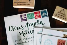 Letterpress Wedding Invitations by Allie Peach via Oh So Beautiful Paper (3)