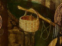 GIOVANNI FRANCESCO DA RIMINI (Attribué),1440-50 - Vie de la Vierge, La Fuite en Egypte (Louvre) - Detail 63