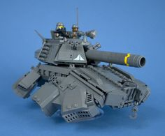 Iron Mountain Legion - Prototype Hover Tank - 07 by Happy Weasel