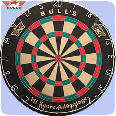 Bulls Hi Score Advantage Trainer Dartboard - Dual Score - Advantage Wiring - HiScore - http://www.dartscorner.co.uk/product_info.php?products_id=19401