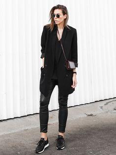 O blazer também pode ser o seu aliado na hora de compor looks para situações mais formais