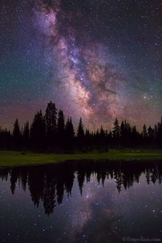 Starry Alpine Reflection by Royce's NightScapes on 500px