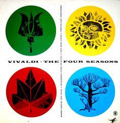 'Vivaldi - The Four Seasons' - Manoug Parikian and the Philharmonia String Orchestra conducted by Carlo Maria Giulini with Thurston Dart (harpsichord)