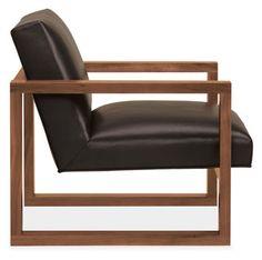 Room & Board - Zane Leather Chair