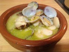 Recetas faciles de cocina de alubias con almejas|recetas originales - YouTube