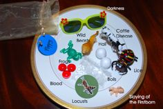 10 plagues sensory/mystery bag