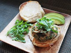 Recipe: Herb-Filled Turkey Burger with Cheddar Cheese #burger #recipe #dinner