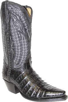 These King Exotic Stingray Boots are Classic and are handcrafted ...