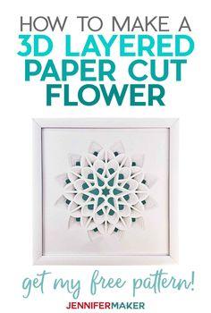 3d Cuts, Cricut Tutorials, Cricut Ideas, Cricut Craft, Paper Art Design, Folded Book Art, Book Folding, Book Sculpture, Paper Sculptures