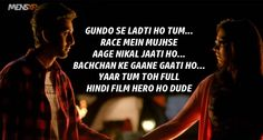 45 Things 'Yeh Jawaani Hai Deewani' Taught Us About Love, Life & Friendships Bollywood Love Quotes, Bollywood Movie Songs, Hindi Movie, Love Dialogues, Famous Dialogues, Yjhd Quotes, Filmy Quotes, Real Life Quotes, Karma Quotes