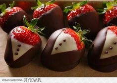 stawberries and chocolate...the best!!!!