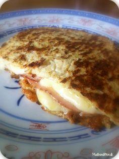 En toast, tak! Med dobbelt ost og uden brød….