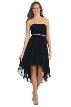 The Little Black Strapless Dress