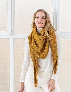 Easy Free Triangle Shawl Knitting Patterns