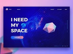 I need Space peopleee ok  - Concept by Audacity IT Solutions Ltd on Dribbble  Follow me for your ui design inspiration   Want to get featured?  Use #brandongroce  Want to get promoted?  DM  @ui.hq  @daily.ui.ux  @dailywebdesign  @creativroom  @thebeeest  @ui.inspirations  @uxpiration  @zerotoone.de  #appdesign #application #creative #dailyinspiration #design #designinspiration #digital #digitaldesign #dribbble #graphic #graphicdesign #graphicdesignui #inspiration #interface #minimal #modern…