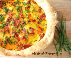 Mashed Potato Pie. MUST TRY!