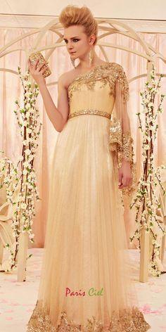 Glitter Golden Designer Dress