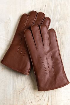 9045547af Men's Douglas Shearling-Lined Lambskin Leather Gloves | Overland Lambskin  Leather, Leather Belts,