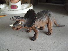 Toys of my childhood Vintage 1985 Imperial Soft Plastic Dinosaur Figurine