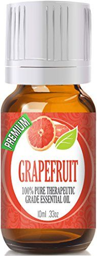 100% Pure Organic Therapeutic Grade Grapefruit 10ml Essential Oil   Botanical Name: Citrus paradisi   Comes in 10ml amber glass essential oil bottle. European Dropper Cap included   Grapefruit ...