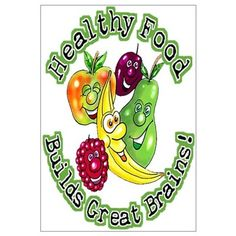 Healthy food is the key to good growth and development of children ...