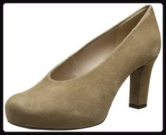 Unisa Damen NEBULA_KS Pumps, Beige (Macchiato), 37 EU - Damen pumps (*Partner-Link) Pumps, Heels, Partner, Peep Toe, Beige, Link, Shopping, Fashion, Self