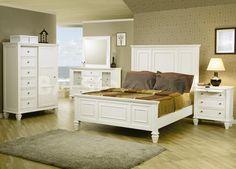 Weiße Schlafzimmer Möbel Deko Ideen In Einem Kleinen Raum, Gespiegelt  Schubkästen Blick Weniger Imposant,