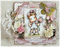 * Tinchy ustvarja *: Live & Love Crafts - Postcard