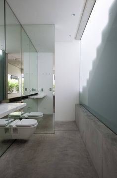 small cement bathroom - Pesquisa Google
