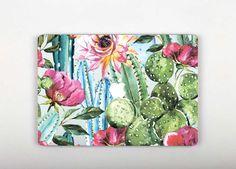 Vintage Cactus Mac Decal Sticker Macbook Vinyl Floral Flowers