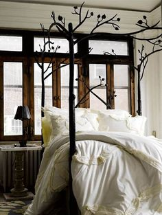 romantic rustic bedrooms