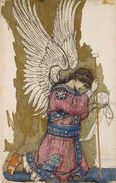 Archangel Michael by Victor Vasnetsov, 1885-1893