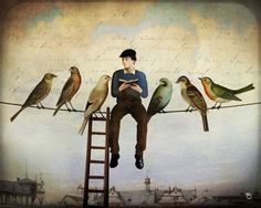 These surreal scenes by Christian Schloe feature bizarre moments that draw viewers out of a concrete reality and into a dreamy, fictional world. In his wor