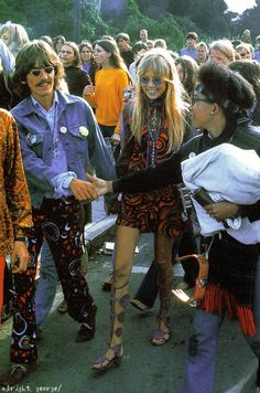 George and Pattie Harrison in San Francisco - summer 1967