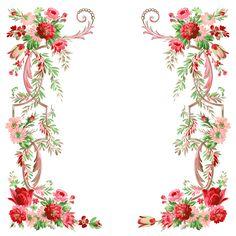 цветочная рамочка