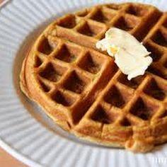 Pumpkin Waffles @keyingredient